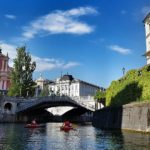 zdjęcie: rzeka w Lublanie